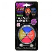 Hisab joker Ansiktsfärg neon kit