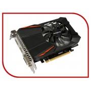Видеокарта GigaByte GeForce GTX 1050 Ti 1290Mhz PCI-E 3.0 4096Mb 7008Mhz 128 bit DVI HDMI HDCP GV-N105TD5-4GD