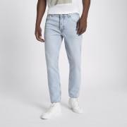 River Island Mens Light Blue Jimmy slim fit tapered jeans (36L)