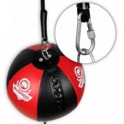 Boksačka brza lopta sa čeličnim karabinima
