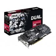 Asus Grafikkort Asus AMD Radeon RX 580 Dual Overclocked 4 GB GDDR5 PCIe x16 HDMI, DVI, DisplayPort