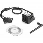 ER Super Mini HD 720P Cámara IP WiFi Inalámbrico Plug And Play De Visión Nocturna -Negro