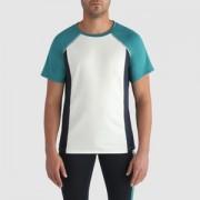 T-shirt met ronde hals en korte mouwen