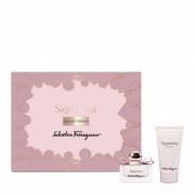 Ferragamo Salvatore Ferragamo Signorina Set (Eau De Parfum 30 Ml + Body Lotion 50 Ml) (8052086374515)
