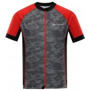ALPINE PRO MARK Pánský cyklistický dres MTSR461423PA červená XXXL