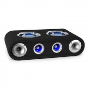 "Auna Beatgust X65 passiv auto-högtalarelement 2 x 16,5cm (6,5"") 300W LED"