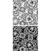 Brewster Wall Pops WPB99044 Peel & Stick Bali Blox, 4-Count