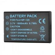 NP-120 1900mAh Bateria para Fuji FinePix 603 / Pentax Optio 450 - Negro