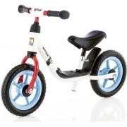"Bicicleta Kettler Run Boy, fara pedale, Roti 10"" (Alb/Rosu/Bleu)"