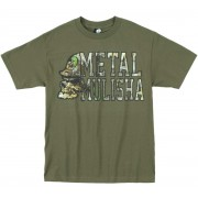 utcai póló férfi - LOCKUP - METAL MULISHA - M245S18239.01_MGN