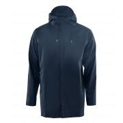 Rains Regenjassen Short Coat Blauw