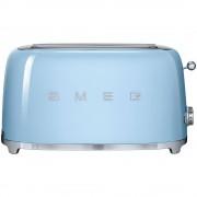 SMEG Tostapane 4 Fette Azzurro Estetica Anni '50