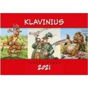 PAUL PAREY Kalender Haralds Klavinius 2021