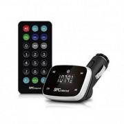 Bil MP3-spelare SPC 8150N LCD SD USB svart