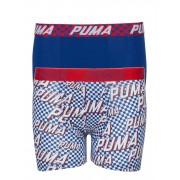 Puma Basic Boxer Race Rats Print 2p Underkläderset Blå PUMA