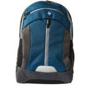 HP 15.6 inch Expandable 21 L Laptop Backpack(Blue, Grey)