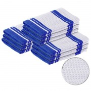 Pearl Mikrofaser-Küchentuch zum Trocknen & Polieren, 3D-Waffelpiqué, 9er-Set