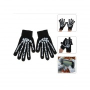 Guantes Gloves For Touchscreen Negro+blanco