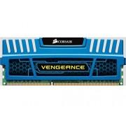 Corsair CMZ4GX3M1A1600C9B Vengeance 4GB (1x4GB) DDR3 1600 Mhz CL9, Bleu