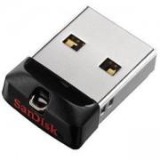 Флаш памет SanDisk Cruzer Fit, 32GB, SDCZ33-032G-G35, Черен, SD-USB-CZ33-032G-G35