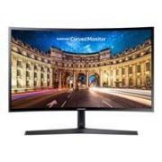 Samsung CF396 Series C27F396FHU Écran LCD 27, dalle VA, 16:9, résolution Full HD 1920 x 1080, luminosité 250 cd/m2, contraste 3000:1, temps de réponse 4 ms, angle de vision 178 degrés, inclinable, HDMI, VGA, poids 4.1 kg, couleur noir brillant, garantie 2