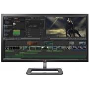 "Monitor IPS LED LG 31"" 31MU97Z-B, 4K (4096 x 2160), HDMI, Display Port, Mini DisplayPort, Thunderbolt, 5 ms GTG, Boxe, Pivot (Negru)"