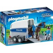 Jucarie Playmobil City Action Police With Horse And Trailer