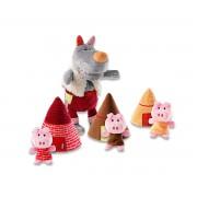 Lilliputiens Marioneta El Lobo y Los 3 Cerditos