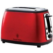 Russell Hobbs Legacy Toaster, Red - Red