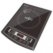Индукционен котлон SAPIR SP 1445 LG, енергиен клас А, 2000W, LED екран, 4 функции за готвене, 8 регулируеми степени на температурата, черен