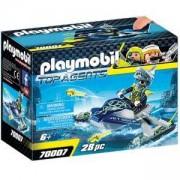 Комплект Playmobil 70007 - Екип акула джет с ракети, 2970007