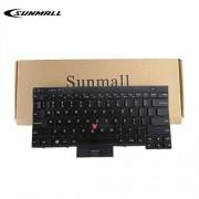 SUNMALL Teclado de Repuesto con Puntero y retroiluminación, Compatible con Lenovo IBM ThinkPad T430 T430S T430I X230 X230T X230I T530 W530 Laptop (no Compatible con T430U X230S)