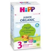 HIPP 3 Junior Organic Lapte de crestere x 500g