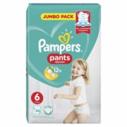 Scutece-chilotel Pampers Active Baby Pants 6 Jumbo Pack 44 buc