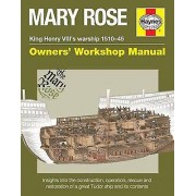 Mary Rose Owners Workshop Manual by Brian Lavery