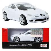 RASTAR Mercedes-Benz SLK55 AMG / WHITE / Toy / DIE-CAST Toy Model cars