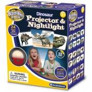 Proiector cu Dinozauri si Lampa de Veghe Brainstorm Toys E2046