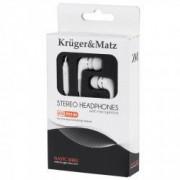 Casti in-ear Kruger Matz KM P01-M alb