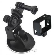 Maxy $$ Frame + Supporto Ventosa Per Gopro Hd Hero$$3 - 3 Plus - 4 Black