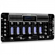 Ibiza Mesa de mezclas DJM-102 Pro 4 canales LED
