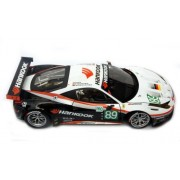 #X5473 Hot Wheels Elite Ferrari 458 Italia Gt2,Lm2011 Farnbacher Racing 1/18 Scale Diecast Vehicle