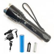 Lanterna LED 5W cu Zoom, Acumulator 18650, 12V, 220V MX712T6