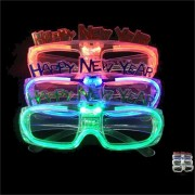 LED Sunglasses Goggles Light Up Shades Flashing Rave Glasses Party Blinds Glowing Toys