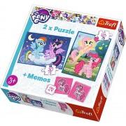 Puzzle clasic copii - 2 in 1 Memo My Little Pony