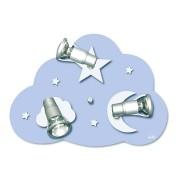 Waldi Lámpara Nube Starlight, 3 bombillas 3x9W/E14