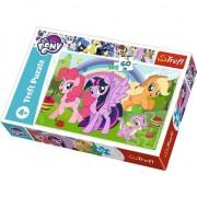 Puzzle Trefl, My little Pony, Curcubeul prieteniei, 60 piese