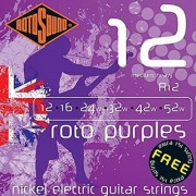 Rotosound R12 Nickel Medium Heavy Electric Guitar Strings (12 16 24 32 42 52)