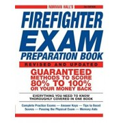 Norman Hall's Firefighter Exam Preparation Book, Paperback/Norman Hall