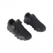 Otoño Invierno Hombre Zapatillas zapatillas deportivas del Tejido transpirable Negro