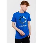 MF Blue férfi póló